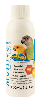 Vitamins for birds