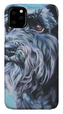 Schnauzer phone case
