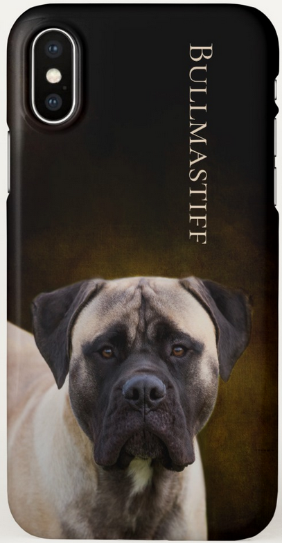 Bullmastiff iPhone X Case