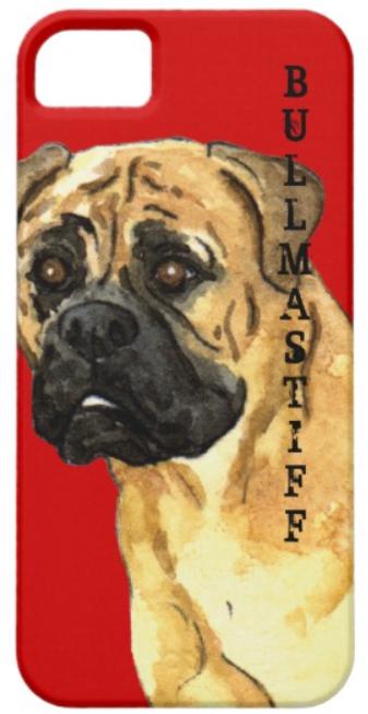 bullmastiff iPhone case