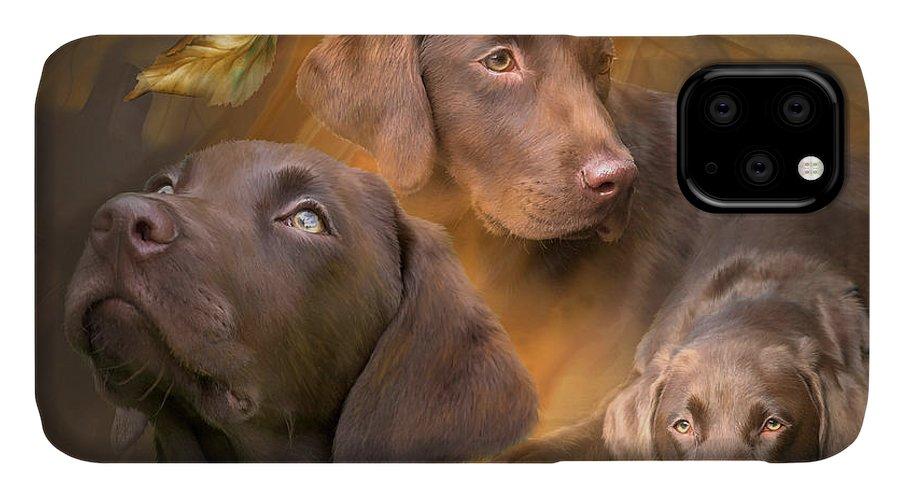 Labrador phone case by Carol Cavalaris