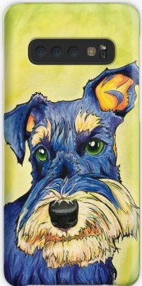 Schnauzer Art Phone Case