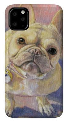 French Bulldog Phone Csse by Tracie Thompson