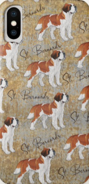 St Bernards iPhone X Case