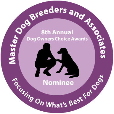 Master Dog Breeders and Associates Award Nominee