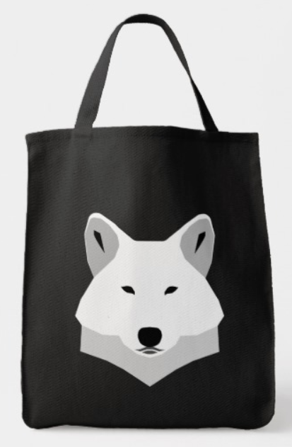 Samoyed Cartoon Tote