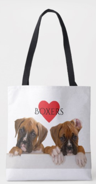 Boxer Puppies Tote