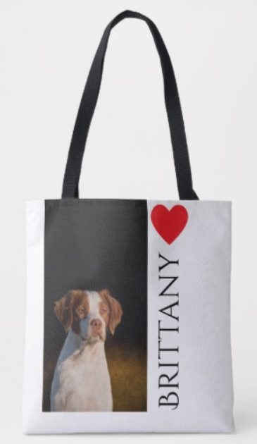 Brittany Dog Lover Tote
