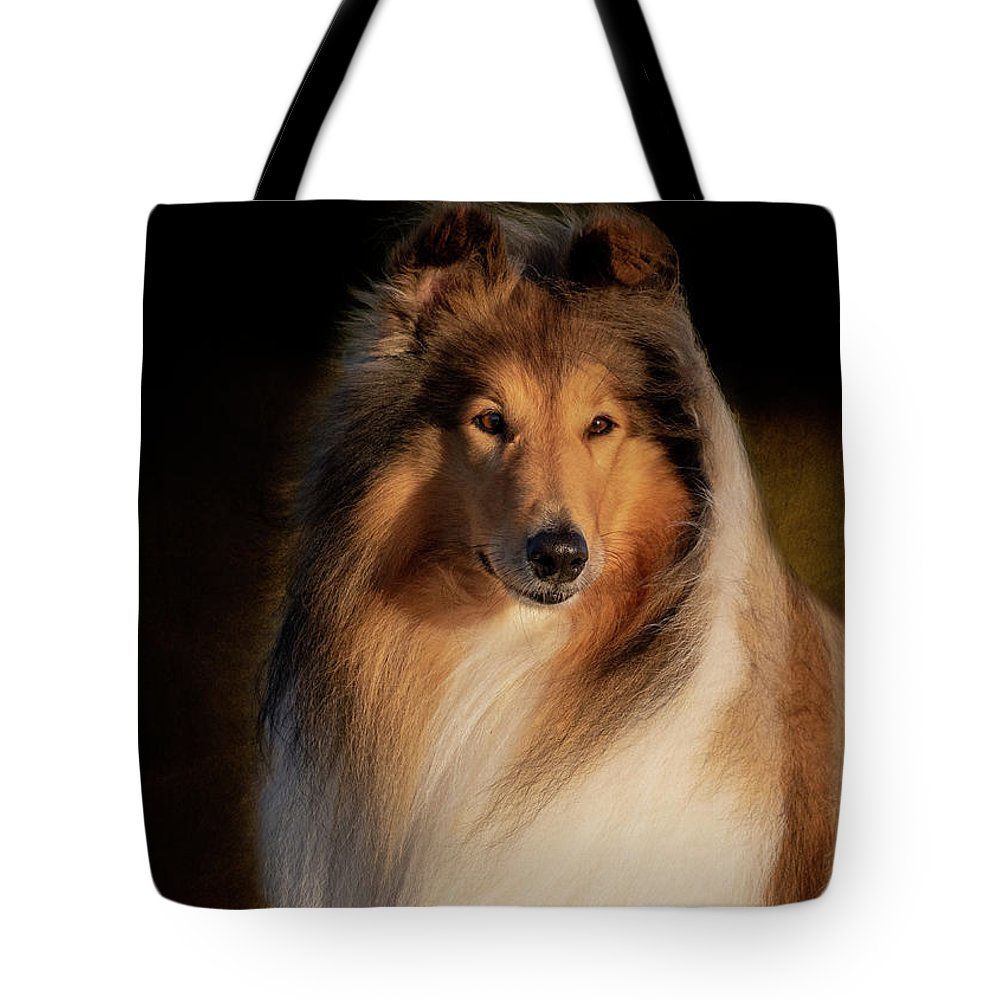 Rough Collie Tote by Diana Andersen, Animal Magnetism