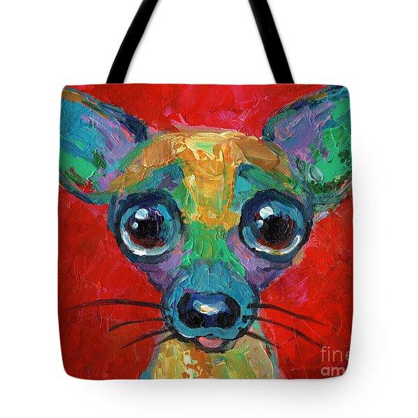 Chihuahua Tote bag by Svetlana Novikova
