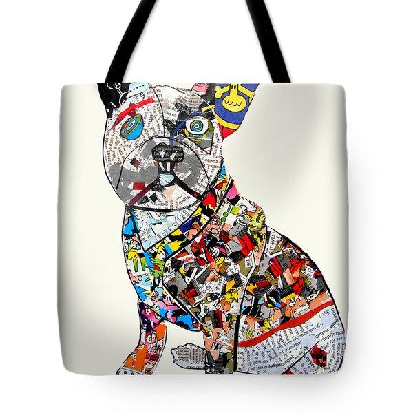 French Bulldog tote