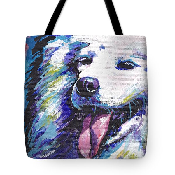 Samoyed tote bag