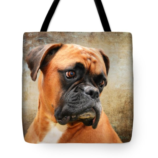 Boxer tote by Stephen Smith