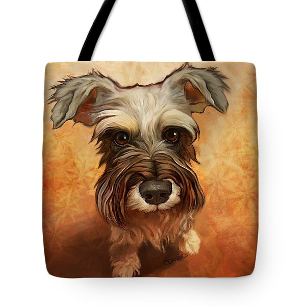 Schnauzer tote bag by Sean O'Daniels