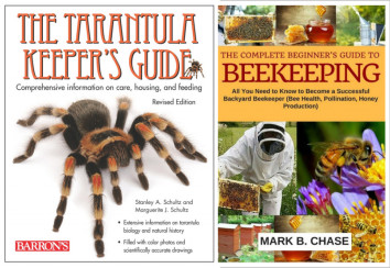 Insect and arachnid ebooks