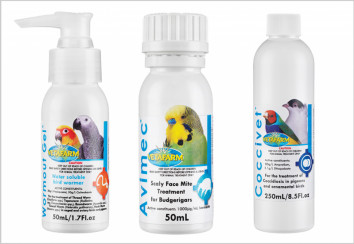 Bird parasite treatments
