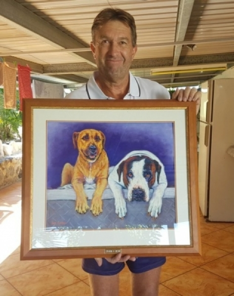 Quality Pet Portraits Australia  wide by  Pet Portrait Artist Sue Linton