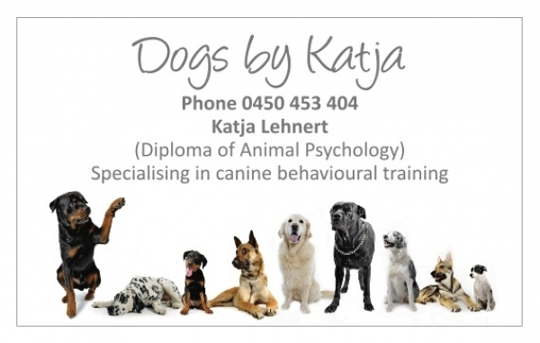 Canines By Katja - dog training solutions that work with you.