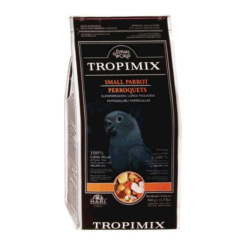 Living World Tropimix Small Parrot Mix - 2kg