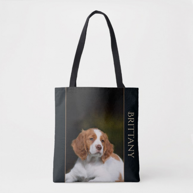 Brittany Spaniel Puppy Tote
