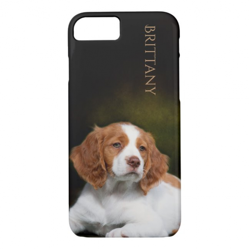 Brittany Puppy Phone Case