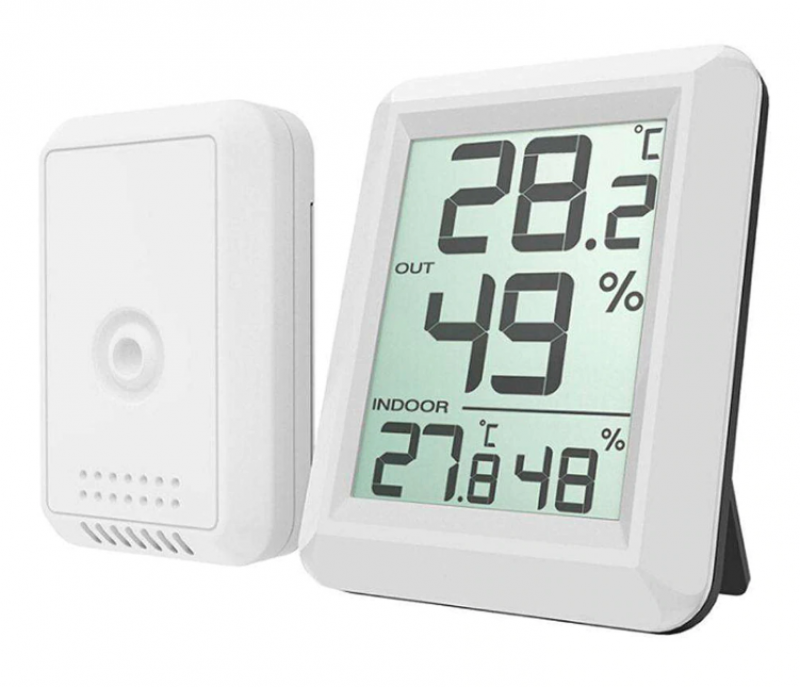 Wireless Digital Thermometer with Separate Sensor